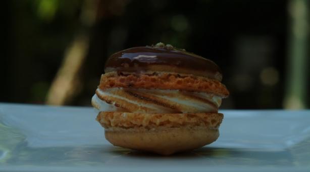 S'mores Macaron