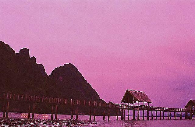 Bond Island peir