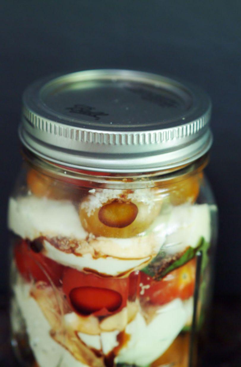 tomato in jar